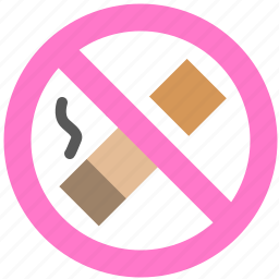 block, no smoke, prevent, smoke, stop icon
