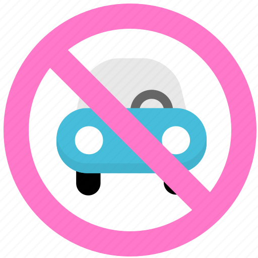 no parking, parking icon