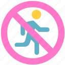 don't run, run icon