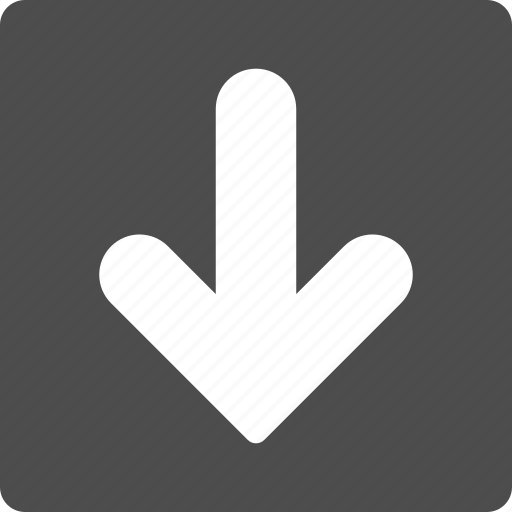 bottom, direction, down arrow, download, fail, move, save icon