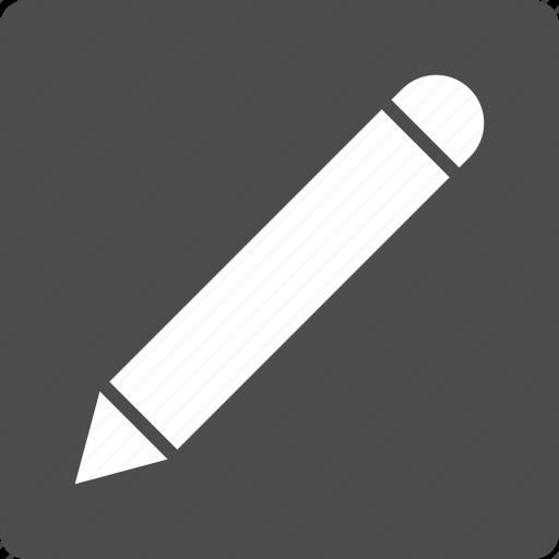 Pencil, change, correct, edit, pen, signature, write icon - Download on Iconfinder