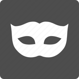 carnival, comedy, hide, mask, masquerade, privacy, theater icon