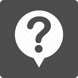 about, bubble, faq, hint, query, question, status icon