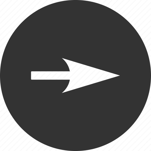 absciss, abscissa, axis x, move, navigation, pointer, pointing arrow icon