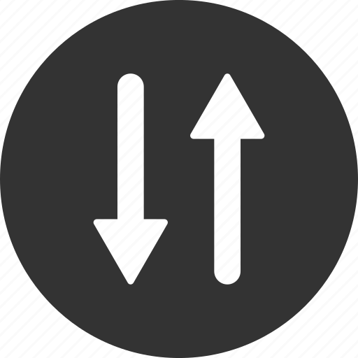 exchange, flip, flipping arrows, mirror, swap, vertical, vertically icon