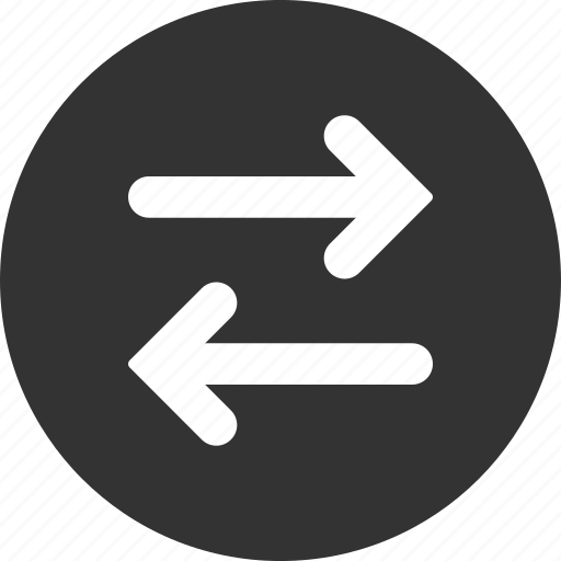 exchange, flip, flipping, horizontal, horizontally, mirror, swap icon