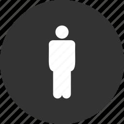 gentleman, guy, he, male, man, person, profile icon