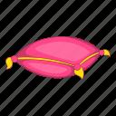 pillow, pink, princess, sleep icon