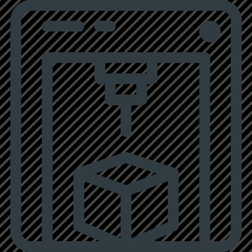 object, printer icon