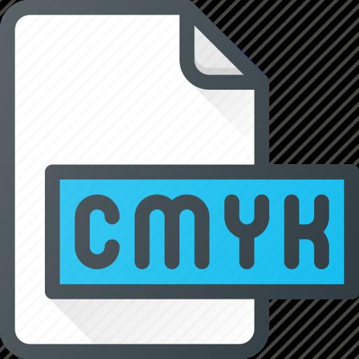 Cmyk, color, file, preset icon - Download on Iconfinder