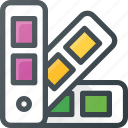 color, design, harmony, palette icon