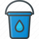 bucket, color, drop, paint, tint icon