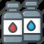 cartige, ink, printer, refill icon