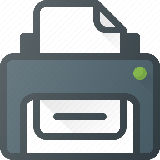 Office, print, printer icon - Download on Iconfinder