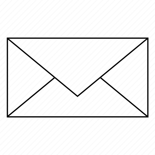 closed envelope, envelope, print, shop icon