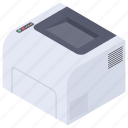 copying machine, hardcopy, peripherals, printer, printing machine icon