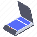 document scanner, image, input device, office equipment, scanner icon