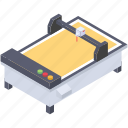 cutting plotter, plotter board, plotter drive, plotter machine, printing device icon