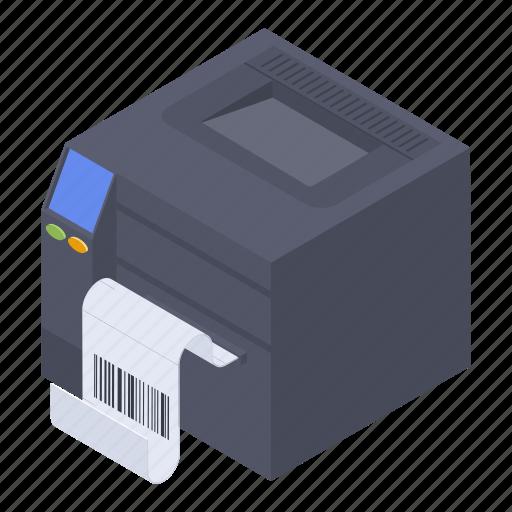 barcode printer, guardar printer, output device, printer, scanner icon