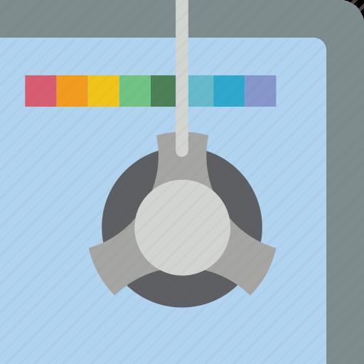 calibrator, print, printing, screen icon
