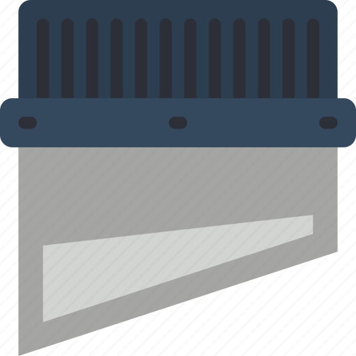 blade, guillotine, print, printing icon