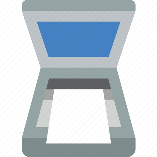 press, print, printing, screen icon