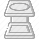 linen, print, printing, tester icon