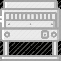 guillotine, print, printing icon