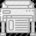 plotter, print, printing icon