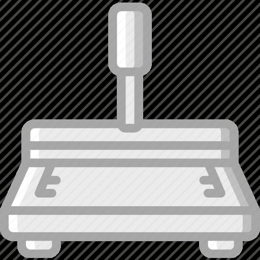 creaser, hand, print, printing icon