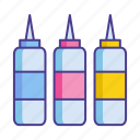bottle, cartridge, cmyk, ink, printer, printer ink, printing