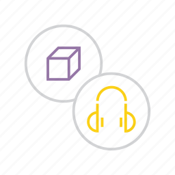 accessories, accessory, hardware, headphones, multimedia, music, product icon