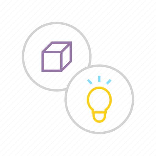discover, electricity, energy, idea, innovative, lightbulb, product icon