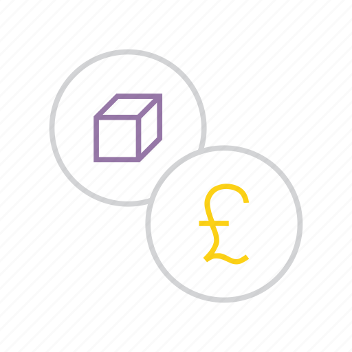 cost, finance, pound, price, product, rate, shopping icon