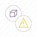 alert, attention, caution, danger, error, product, warning icon