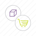 add-to-cart, basket, buy, cart, product, shop, shopping icon
