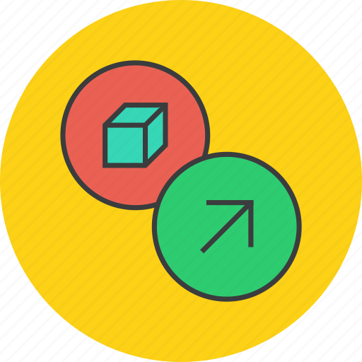 delivery, export, package, product, send, shipment icon
