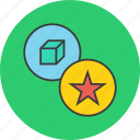 bookmark, favorite, important, product, rate, star icon