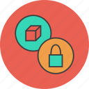 access, ban, block, disable, lock, product, purchase icon
