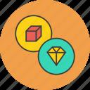 jewel, jewellery, luxury, precious, product, valuable icon
