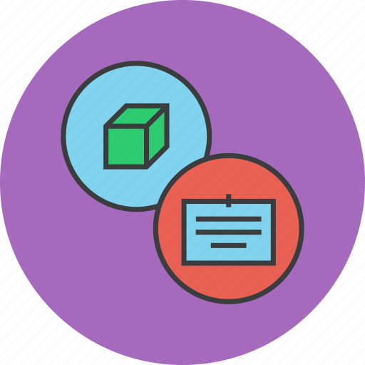 description, details, document, information, package, product, specification icon
