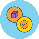 antivirus, package, privacy, product, protection, security, shield icon