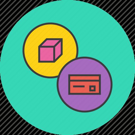 banking, card, credit, debit, product, shopping, swipe icon