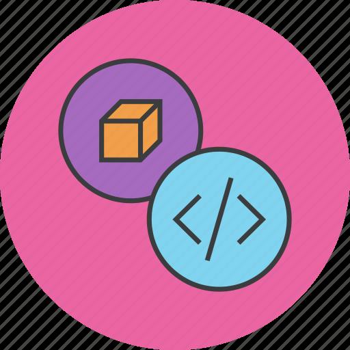antivirus, code, development, package, product, programming, software icon