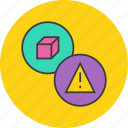 alert, attention, caution, danger, mistakes, product, warning icon