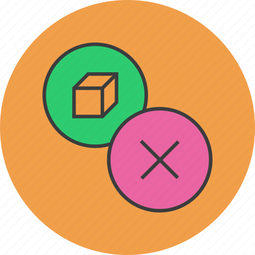cancel, delete, product, reject, remove icon