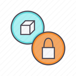 access, block, lock, product, purchase, secure icon