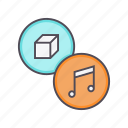 accessory, instruments, multimedia, music, product icon