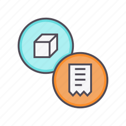 bill, ecommerce, invoice, product, receipt, shopping, statement icon