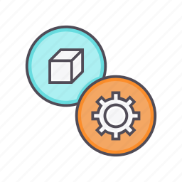 configuration, customization, options, package, preferences, product, settings icon